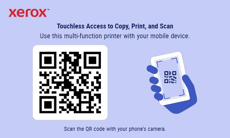 Xerox Touchless Access App